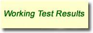 Working Test Results